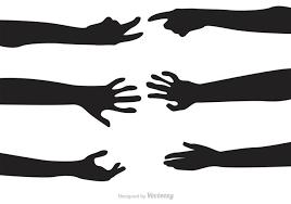 image result for silhouette arm reaching | vector free, vector art design,  vector art  pinterest