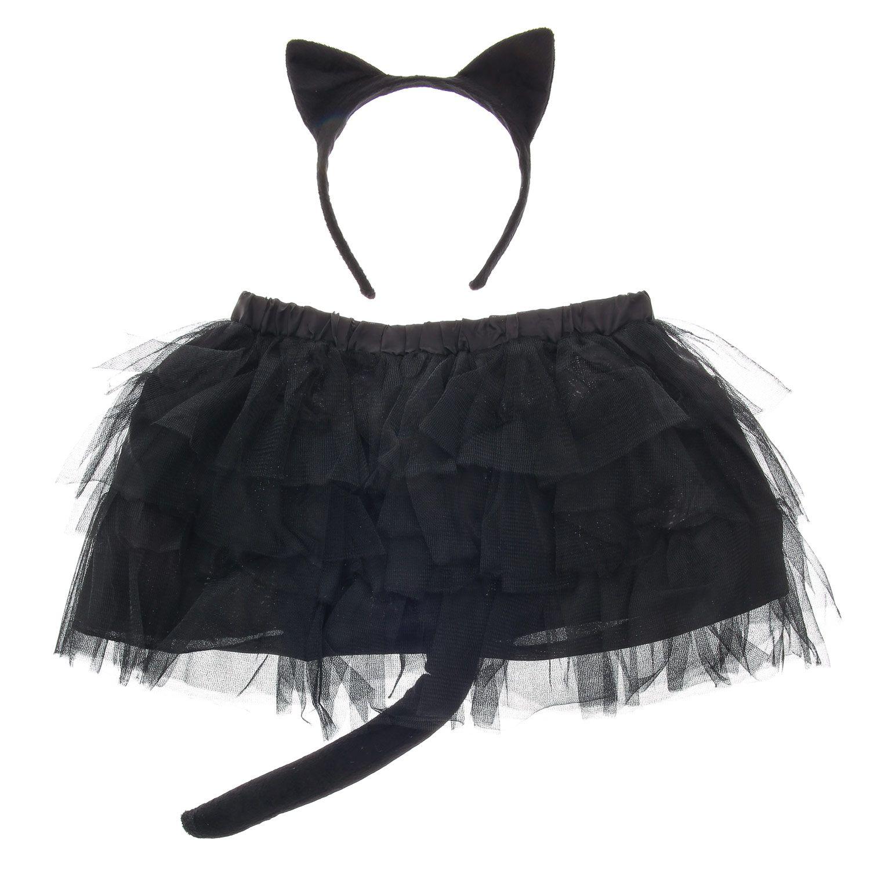 Deguisement Chat Halloween costume chat noir enfant pour halloween, folie des chats, tenues