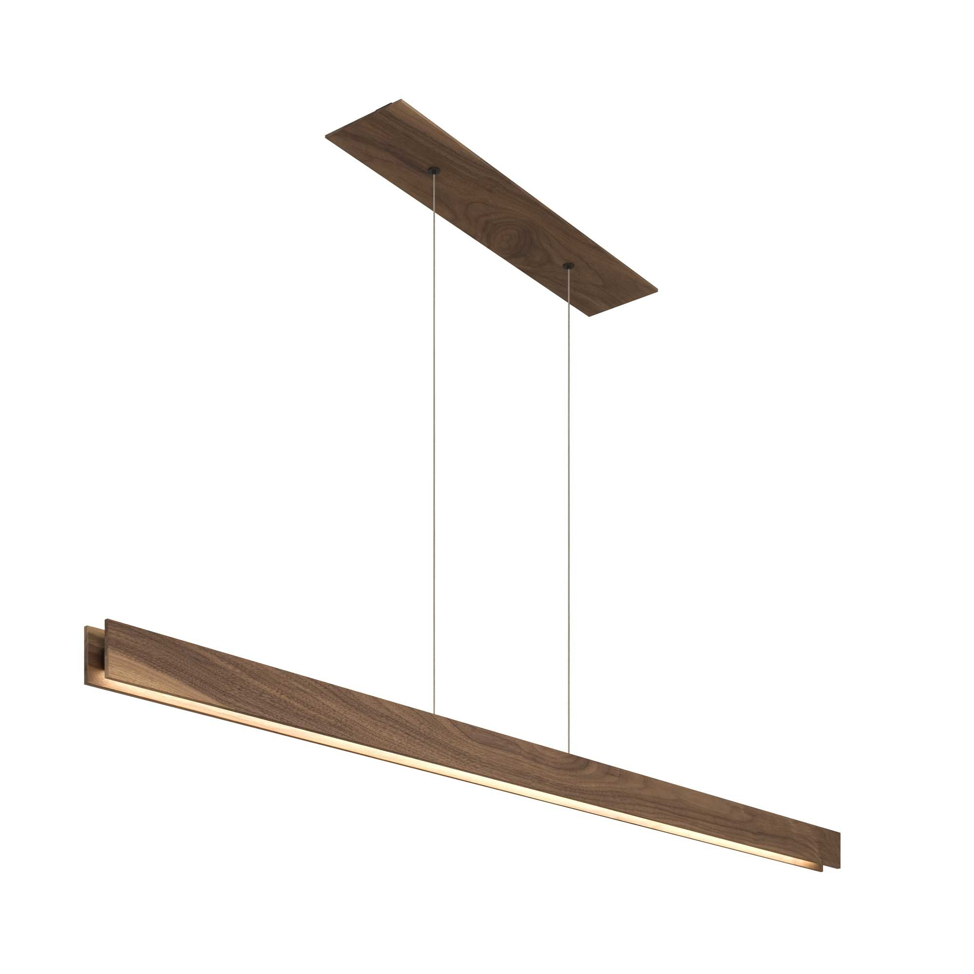 Glide Wood Linear Suspension By Edge Lighting Gl D1 C 60in