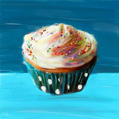 Have A Cupcake - Featured Images - Delightful Sprinkles  by Lourry Legarde