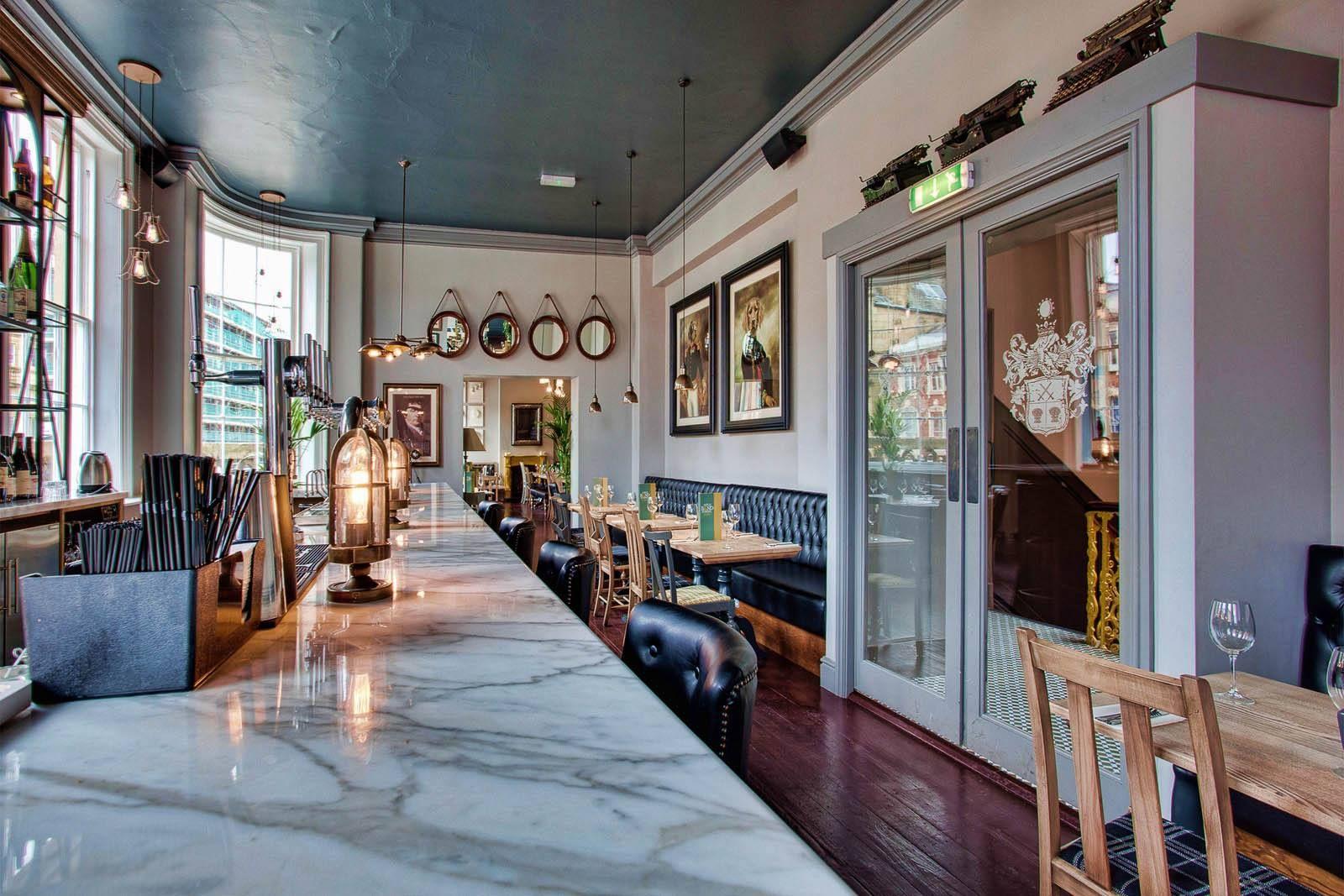 Contemporary Restaurant and Pub Decor by DV8 Designs | thoribuzz.info