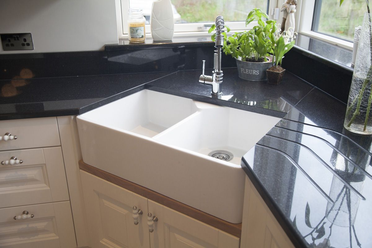 Corner Belfast Sink Corner Sink Kitchen Kitchen Inspiration Design Belfast Sink Kitchen