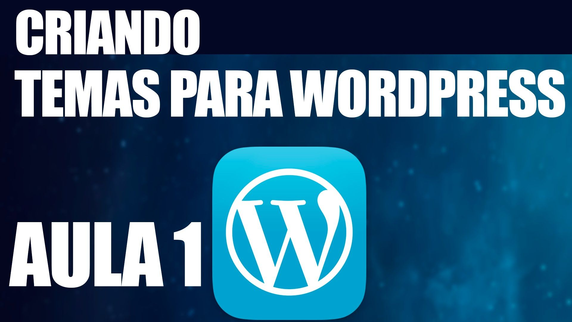 Criando Temas para wordpress - Aula 1 Instalando o Wordpress no servidor...