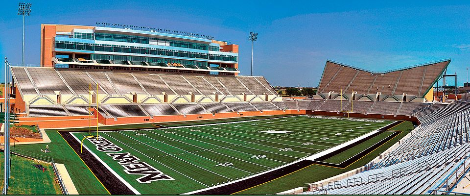 Apogee stadium home of north texas mean green football