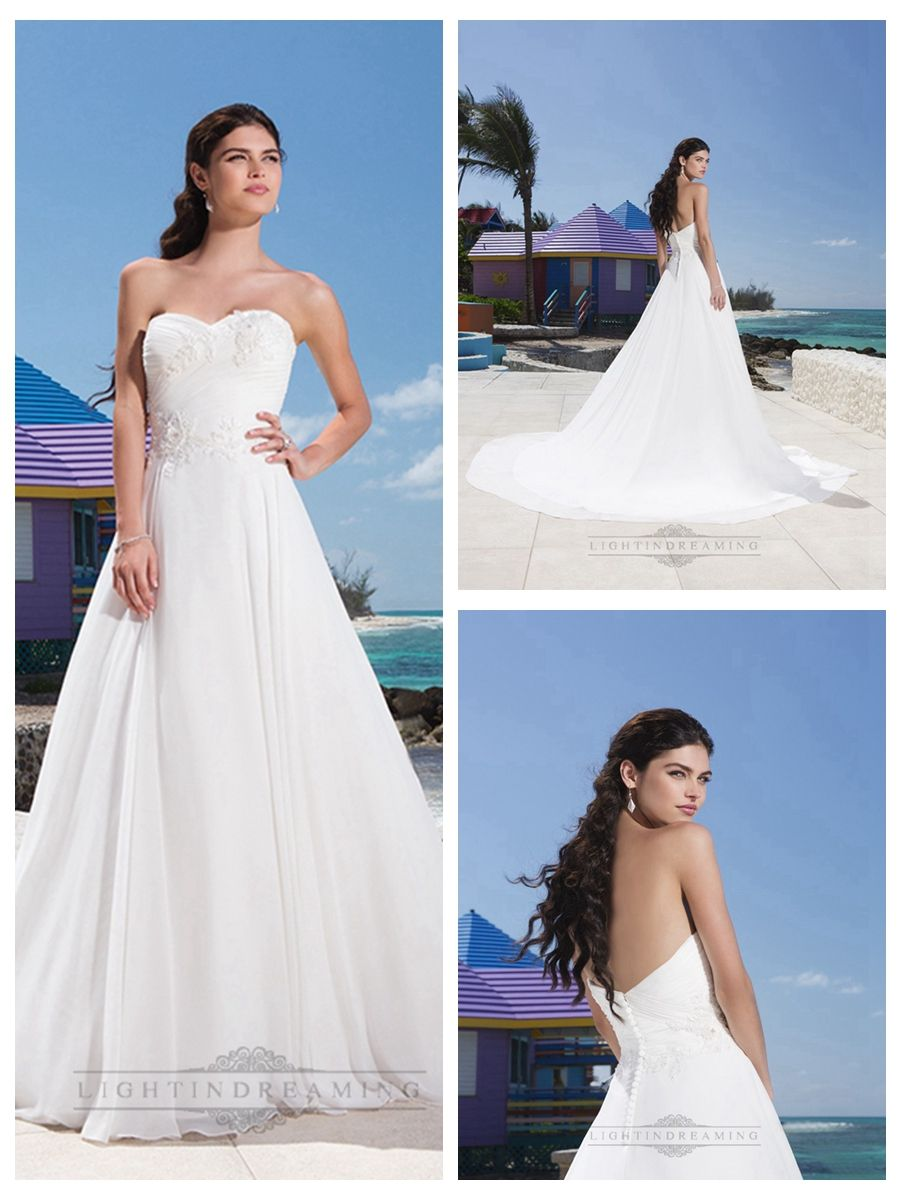 Sweetheart Neckline And A Beaded Lace Appliques Ruched Bodice Chiffon   Ball Gown http://www.ckdress.com/sweetheart-neckline-and-a-beaded-lace-appliques-  ruched-bodice-chiffon-ball-gown-p-332.html  #wedding #dresses #dress #lightindream #lightindreaming #wed #clothing   #gown #weddingdresses #dressesonline #dressonline #bride
