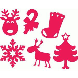Silhouette Design Store - Search Designs : christmas