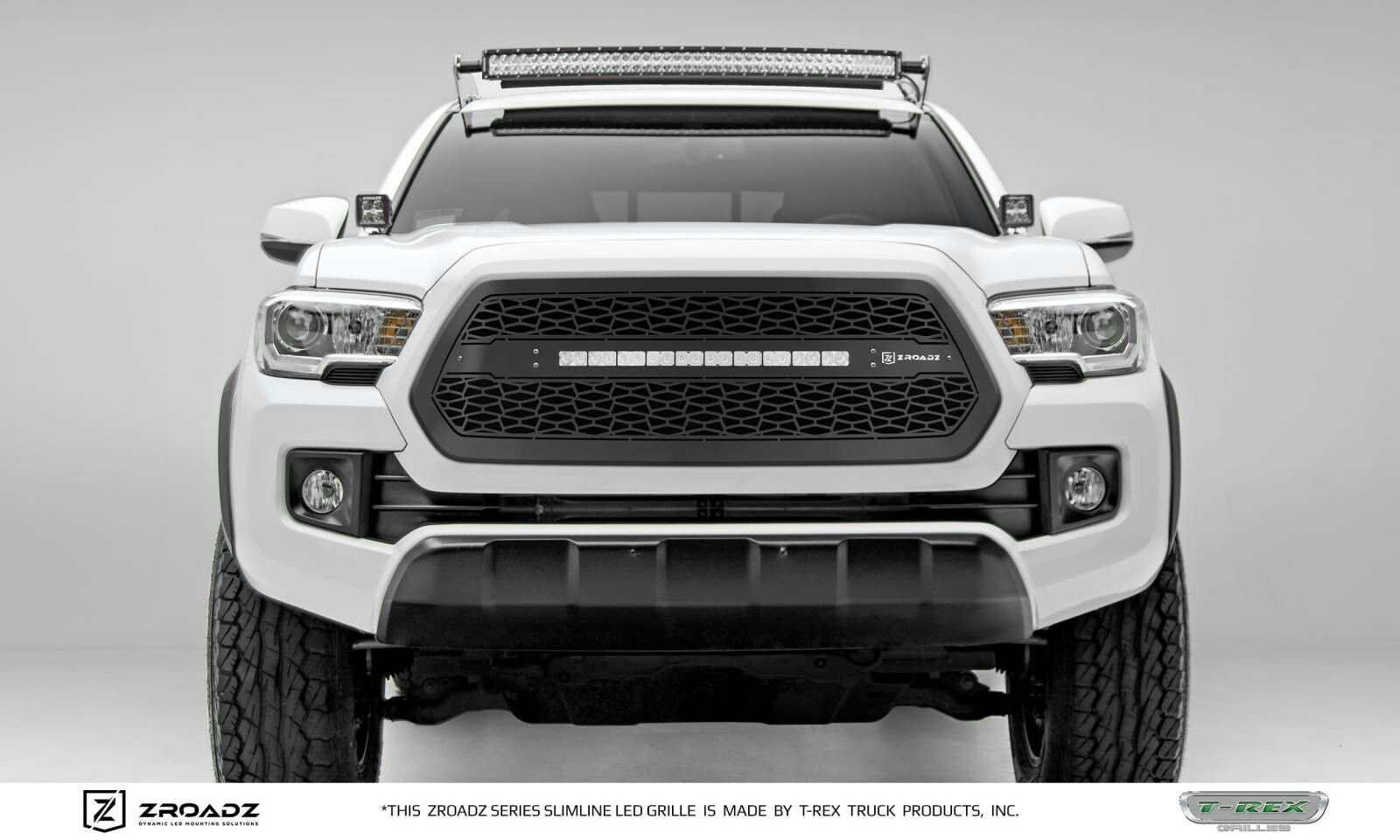 2016 TRD offroad with ZROADZ LED grille. Toyota