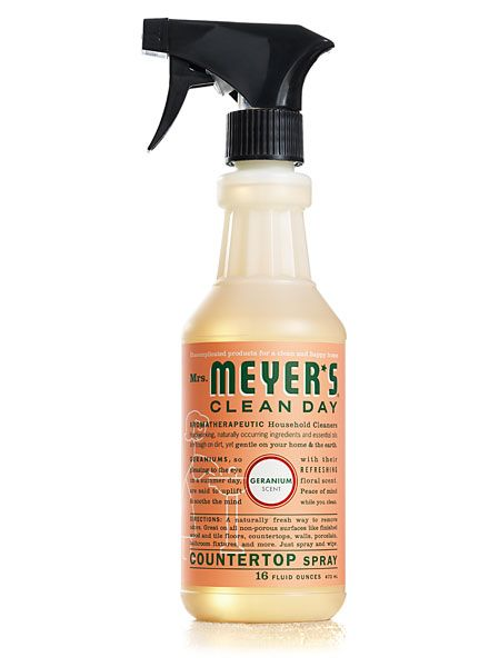 My Favorite Things Mrs Meyers Countertop Spray Cleaning Day
