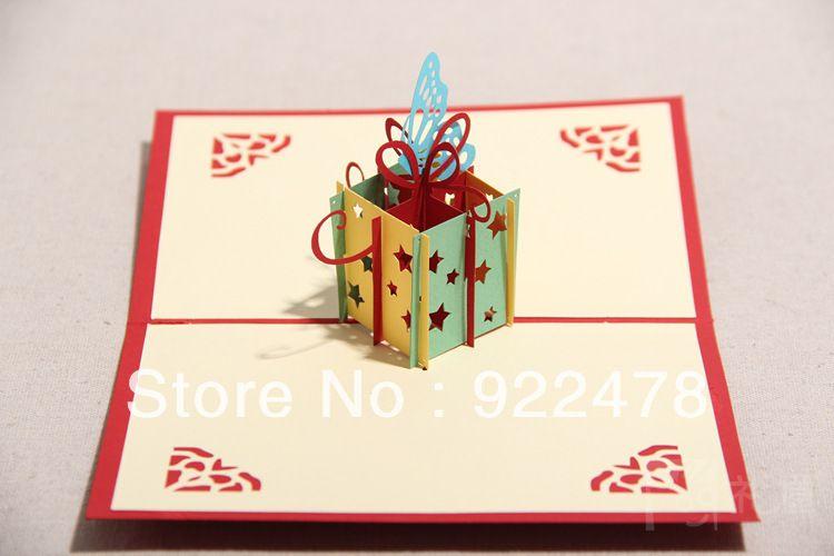 Handmade Pop Up Greeting Cards Ideas Birthday cardspop up – Pop Up Birthday Card