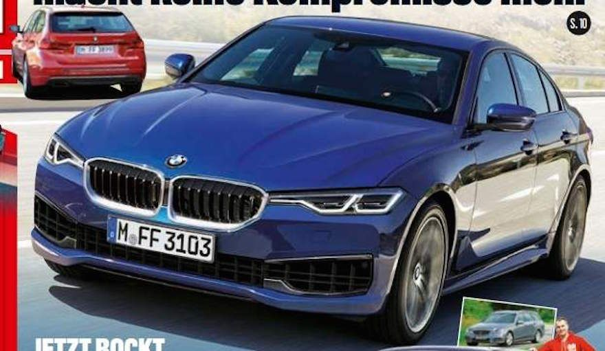 Next Generation Bmw 3 Series Rendering