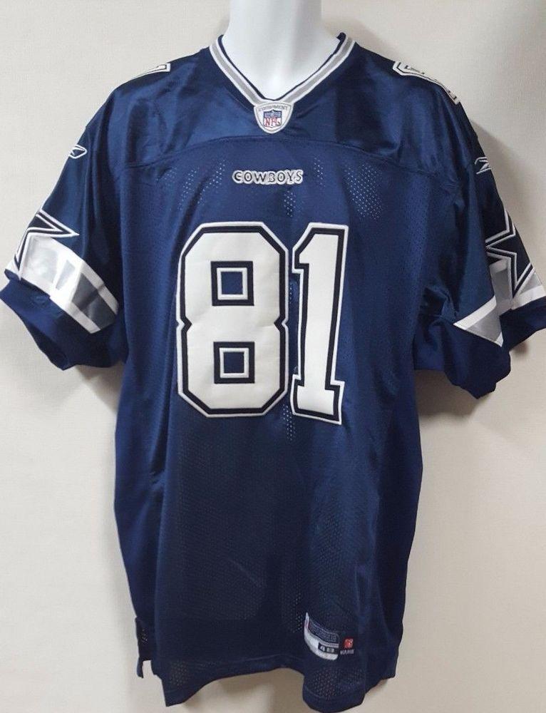 259b655f485 Dallas Cowboys Terrell Owens 81 Authentic Reebok NFL Home Jersey Size 48   Reebok  DallasCowboys