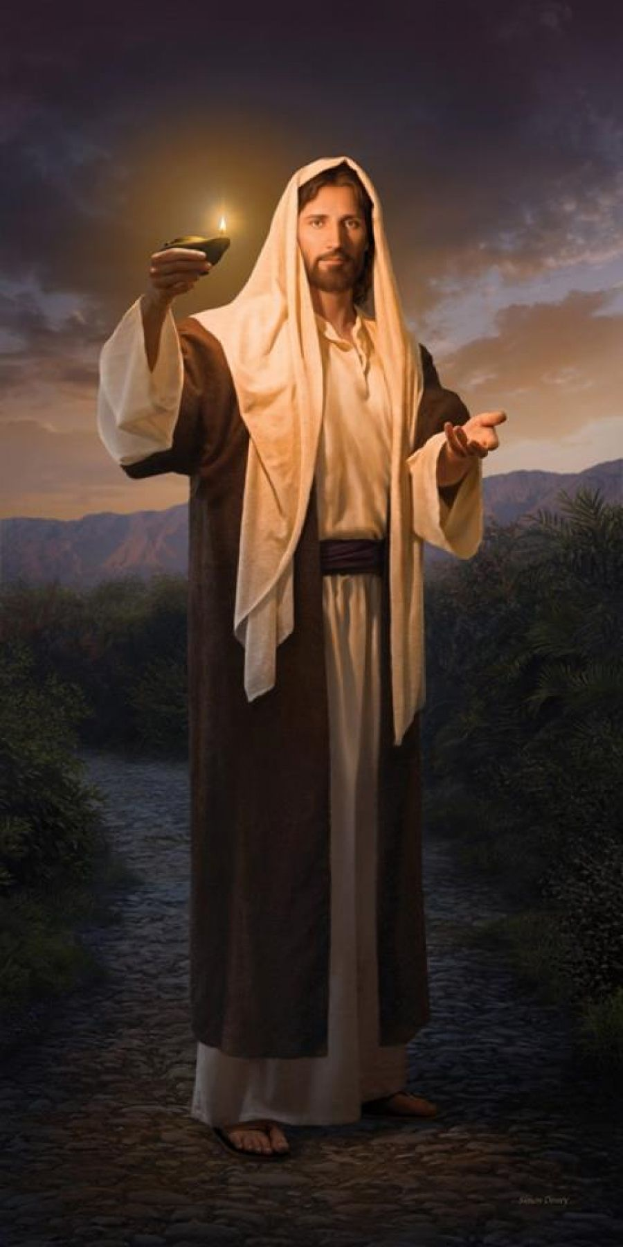 lds art savior greg olsen - photo #4