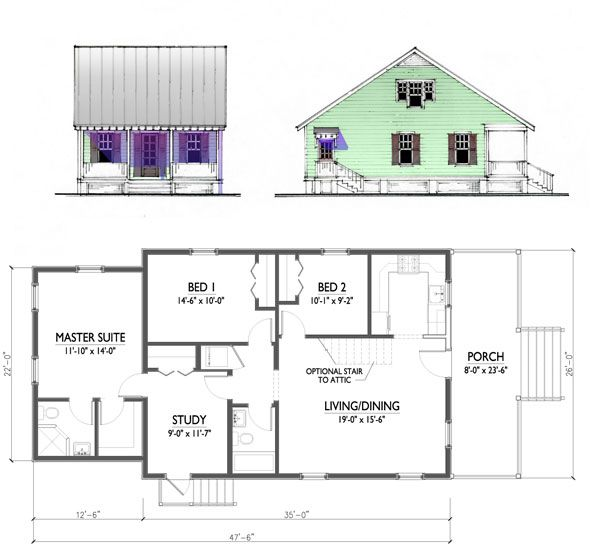 Katrina house designs