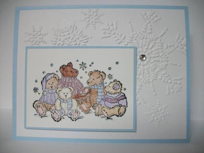 Photo of Osos de invierno (TSC1203) por MrsBoz – Tarjetas y manualidades de papel en Splitcoaststampers
