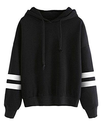 Macondoo Women Hoodies Oblique Zipper Midi Length Jacket Sweatshirts