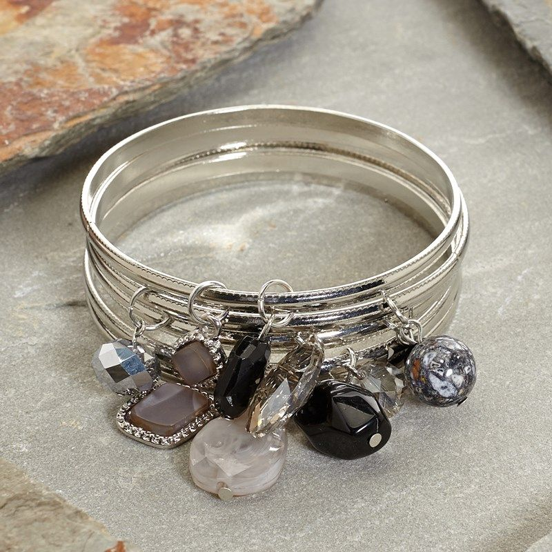 A Fun Addition To Any Woman S Jewelry Drawer These Thin Bangles