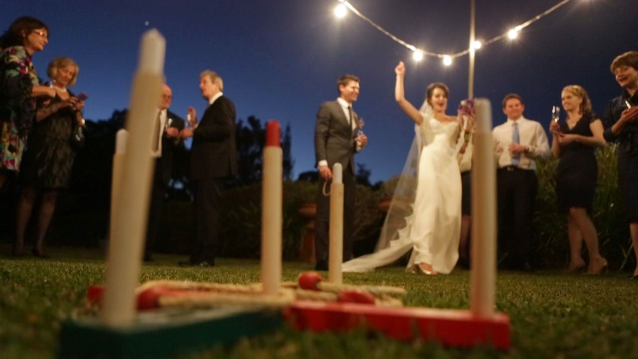 Looking for games to play at your garden wedding... you\'ve got to ...