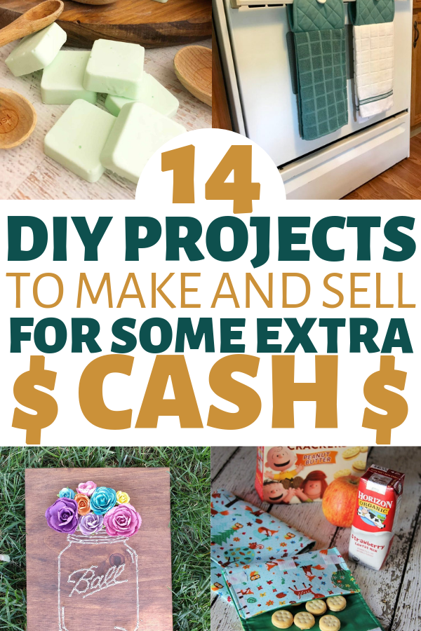 14 Simple Crafts To Make And Sell For Extra Money *So Easy* #projectstotry