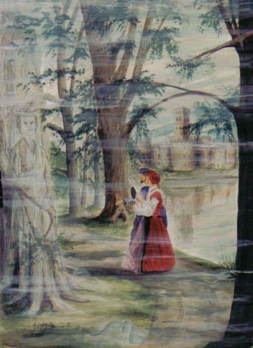 Celtic  Secrets, watercolor