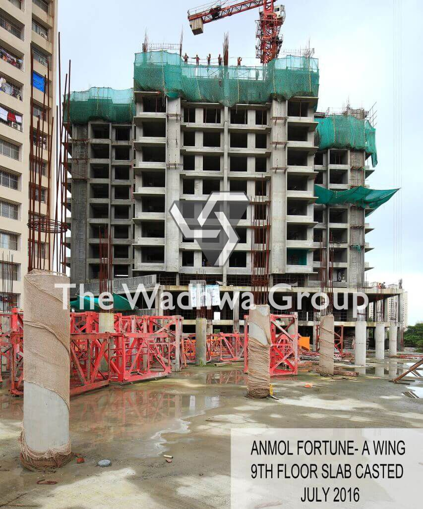 Construction Status Of Anmol Fortune Fortune Floor Slab Residential