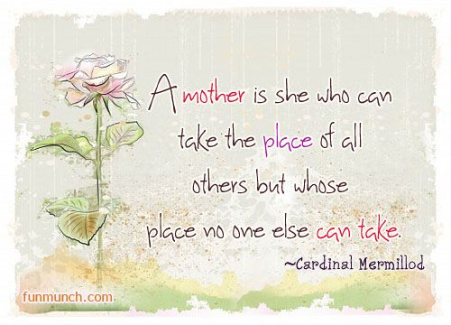Cherish Your Mother And The Blessing Of Motherhood Clever