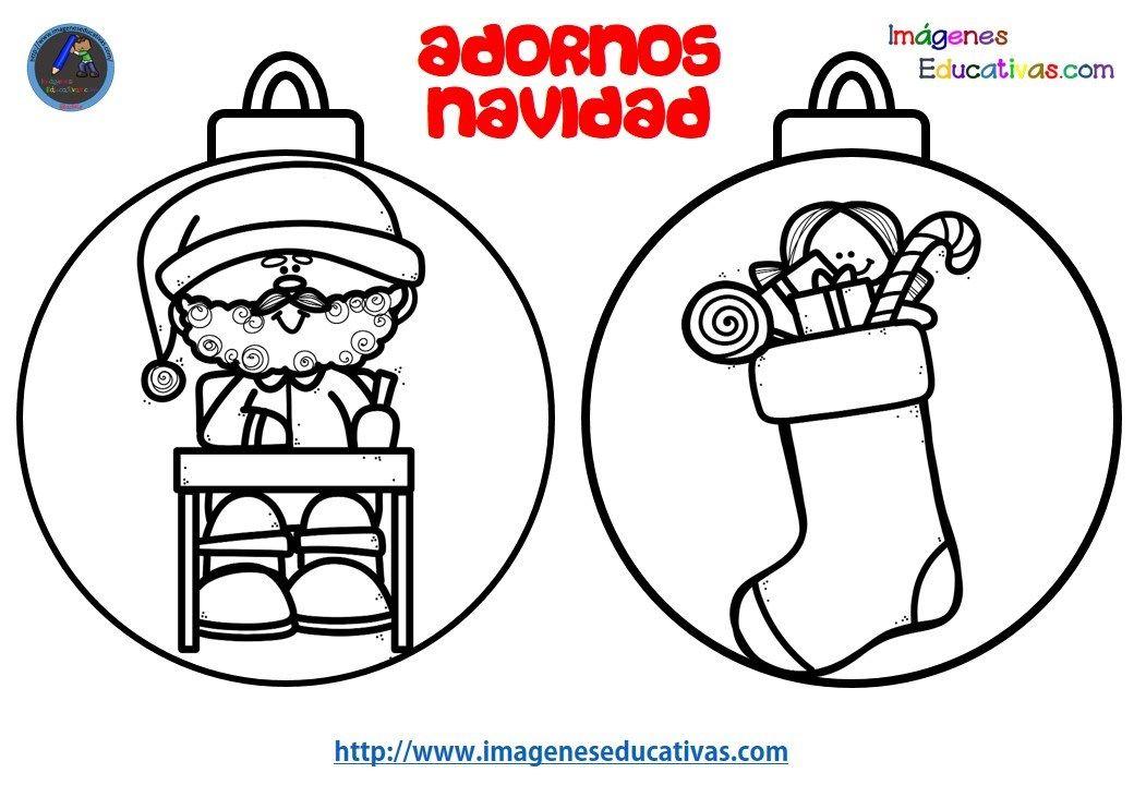 Colección de BOLAS DE NAVIDAD para colorear totalmente originales y ...