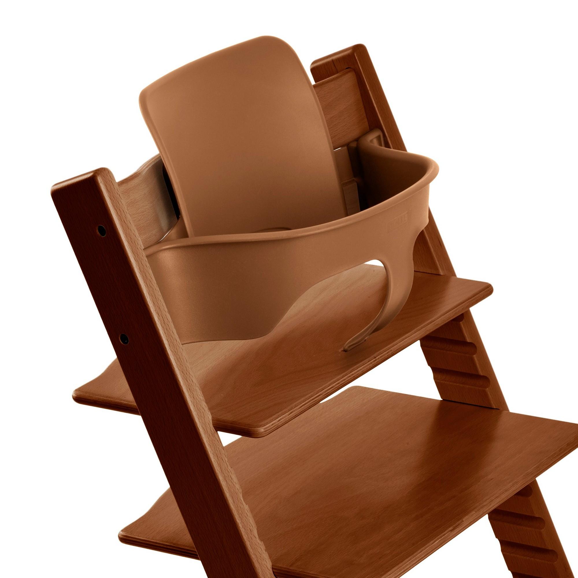 Stokke Tripp Trapp Baby Set High Chair Accessories - Walnut (Brown ...