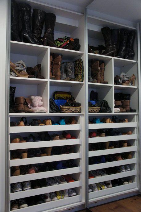 sapateira artesanal de caixote Pesquisa Google decoraç u00e3o quarto Pinterest