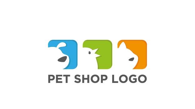 Pet Shop Logo Dog Cat Bird Non Exclusive Logo Design By