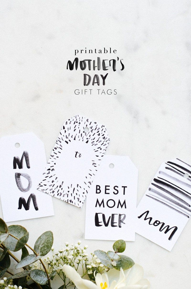 Mother's Day Gift Tag Free Printable | Perfect for gifts any time of the year, really.