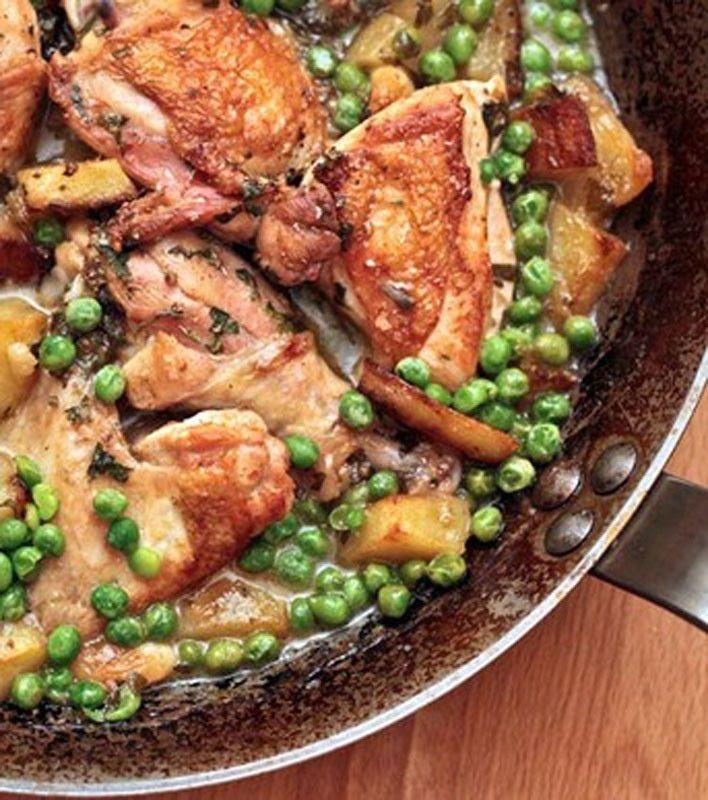 Chicken Vesuvio Chicken Vesuvio Recipe Chicken Crockpot Recipes Chicken Vesuvio