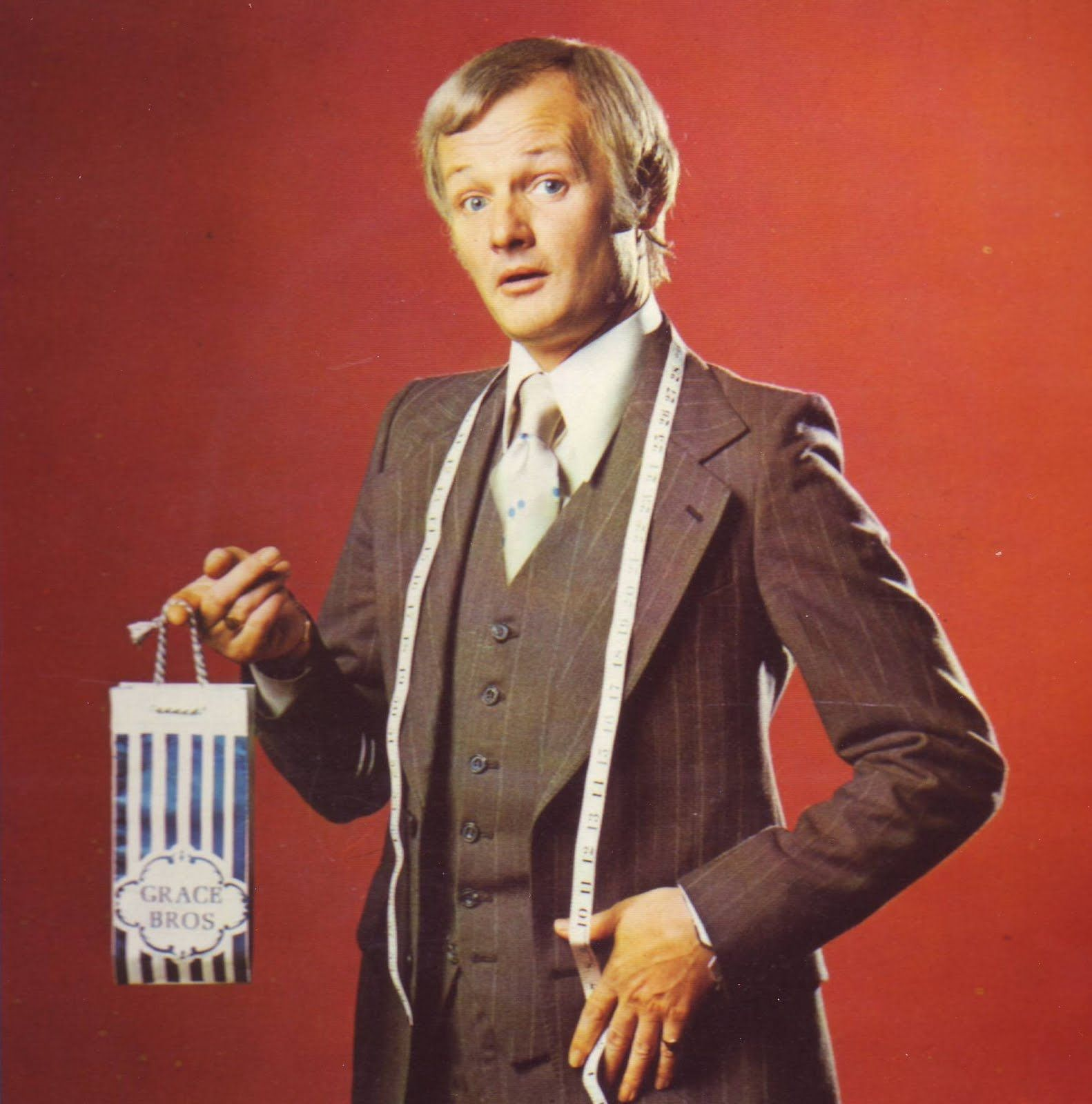 John Inman As Mr Humphries In Are You Being Served Are You Being Served British Tv Comedies British Comedy