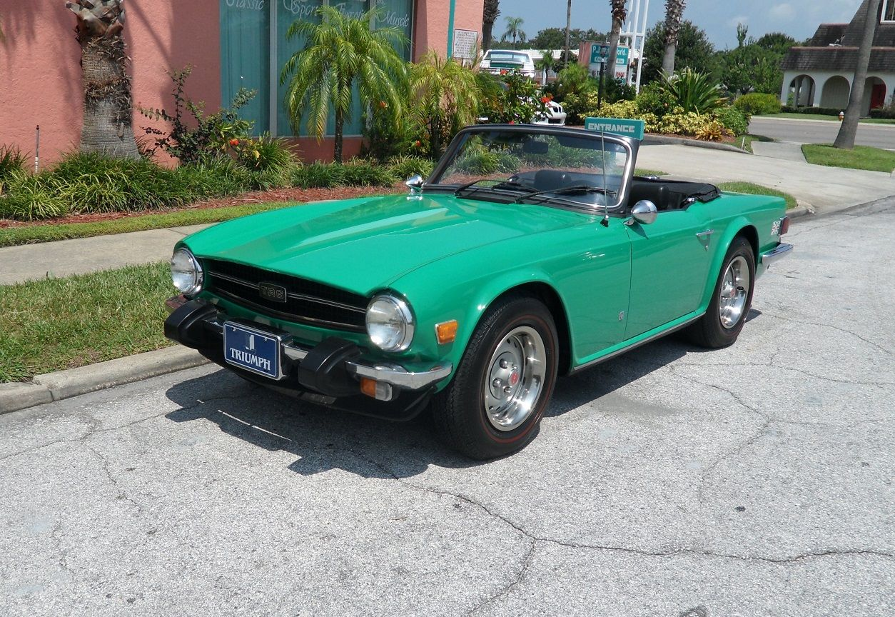Lovely Turquois TR6 USA for sale Triumph tr6, Classic