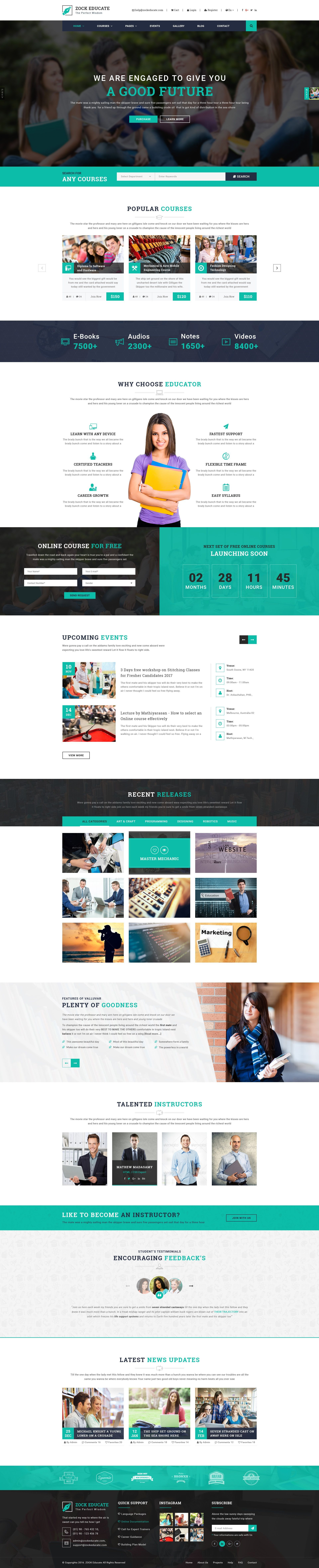 ZOCK  Multipurpose PSD Template by arrow themes   ThemeForest Gallery