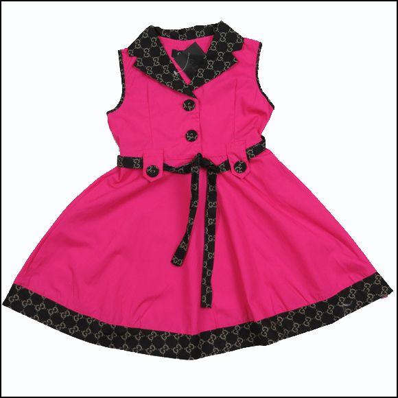 Barato Vestido da menina roupas de algodão para crianças crianças ...