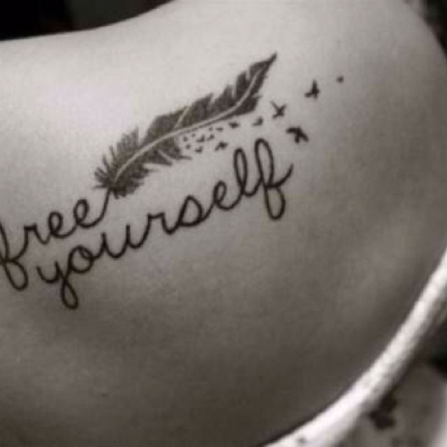 I want the feather for my tattoo..on my hip?