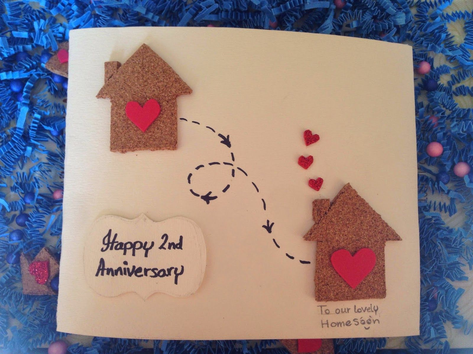 The Extreme Simple Idea For Anniversary Gift Diy Anniversary Cards Diy Anniversary Anniversary Cards