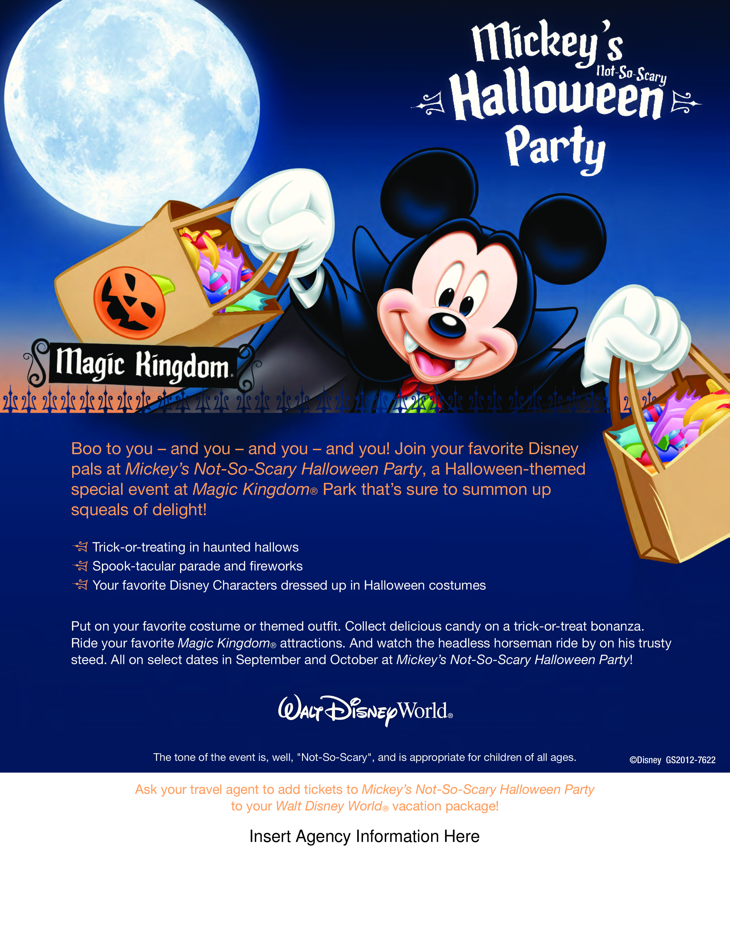 Mickey's Merry Not So Scary Halloween Party! I can get you tickets ...