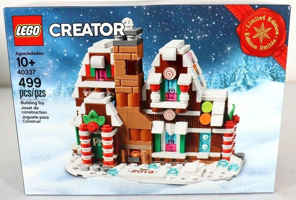 Lego Creator 40337 Mini Gingerbread House Limited Edition In 2020 Gingerbread House Mini Gingerbread House Lego Gingerbread House