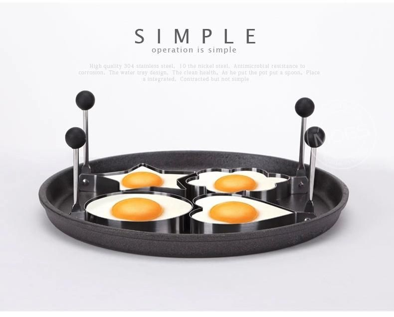 [Visit to Buy] Stainless Steel Fried Egg Shaper Pancake Ring Mold Cooking Tools Kitchen Accessories #Advertisement