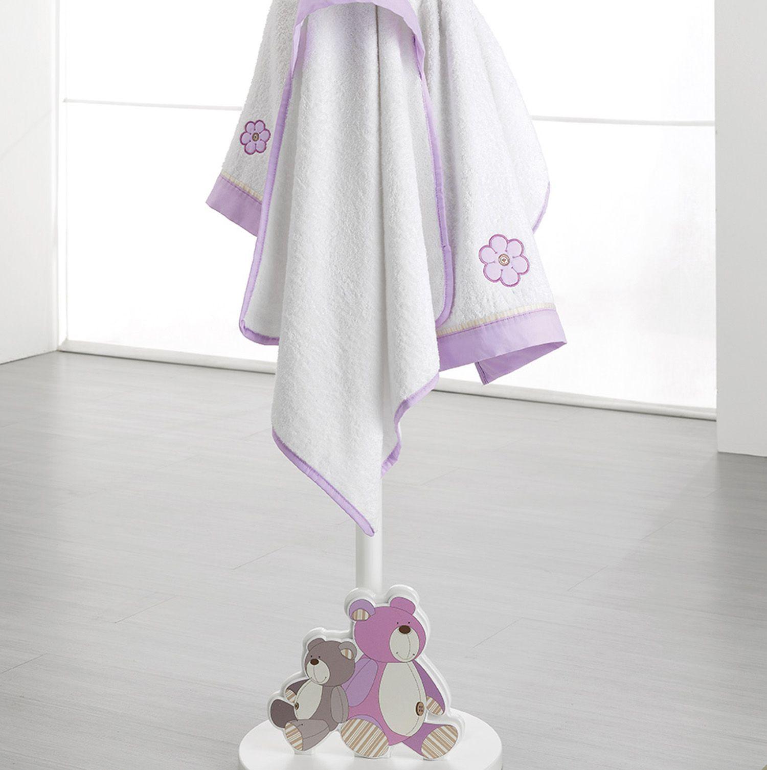Erbesi Serie Lilo & Gió für ein stylishes Kinderzimmer in weiß und violett