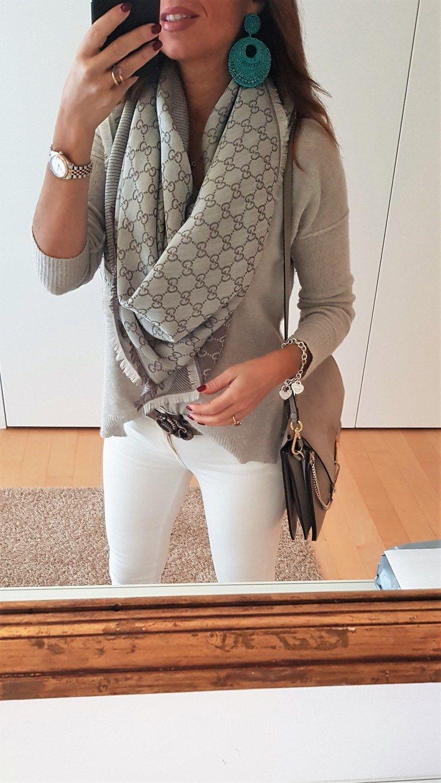 nuovo arrivo 9073d 2d0ae Come indossare una sciarpa o una stola | carla | Indossare ...