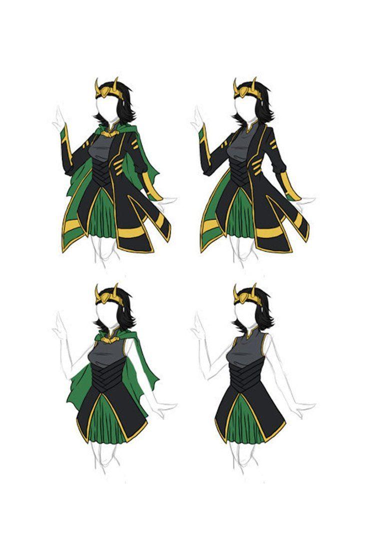 Thor The Avengers Loki Laufeyson Uniform Outfit Cosplay Costume Custom Made