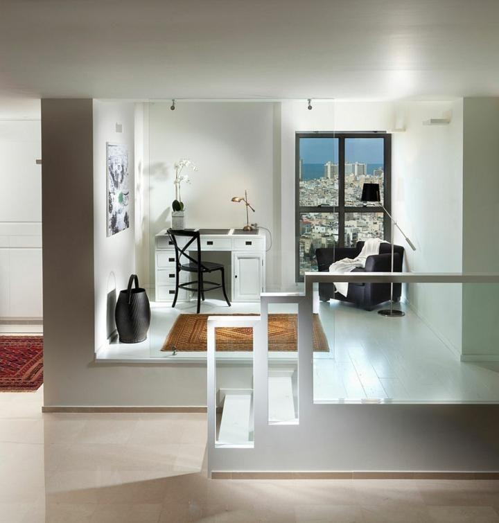 Schwarz und Weiß, Farben, um ein einzigartiges Büro zu machen Haus - wohnzimmer dekorieren schwarz
