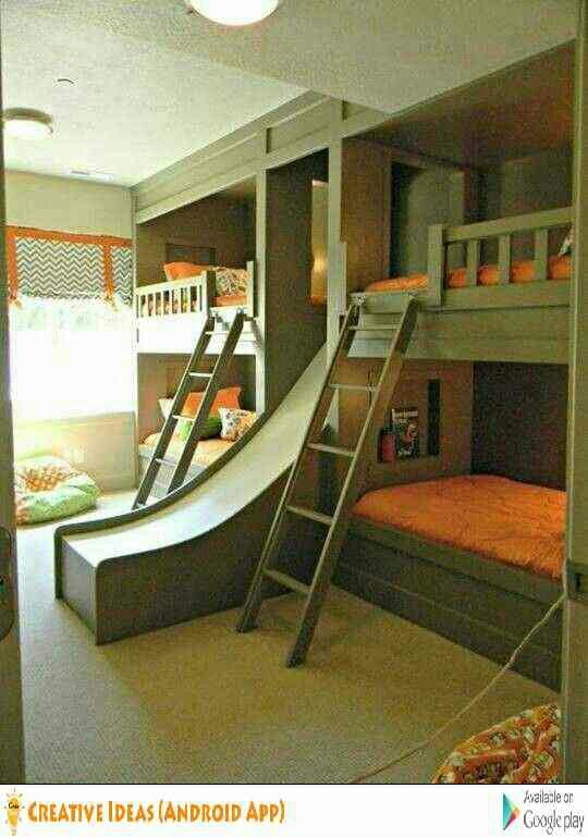 Where was this when I was a kid? Dream Bedrooms and Intimate