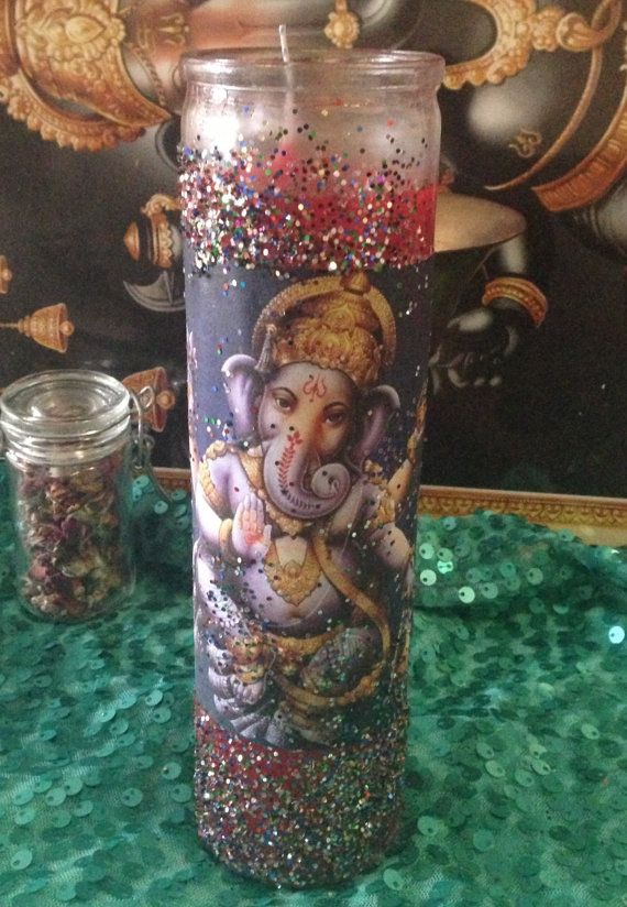 Hey, I found this really awesome Etsy listing at https://www.etsy.com/listing/160878526/blessed-seven-day-candle-lord-ganesh