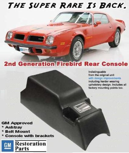 Firebird Trans Am Rear Console 1971 77 Gm Approved At Last New Firebird Trans Am Firebird Trans Am