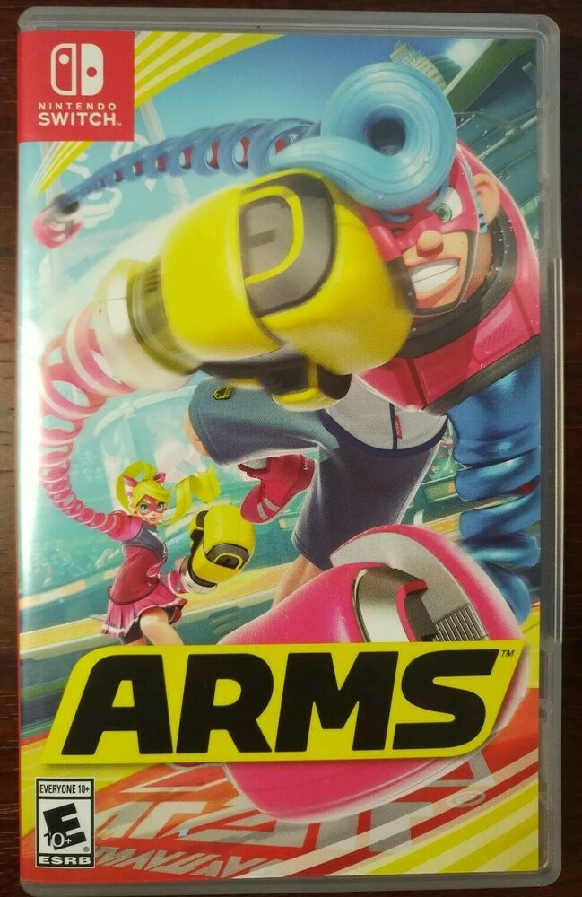 Arms Game For Nintendo Switch Complete In Case