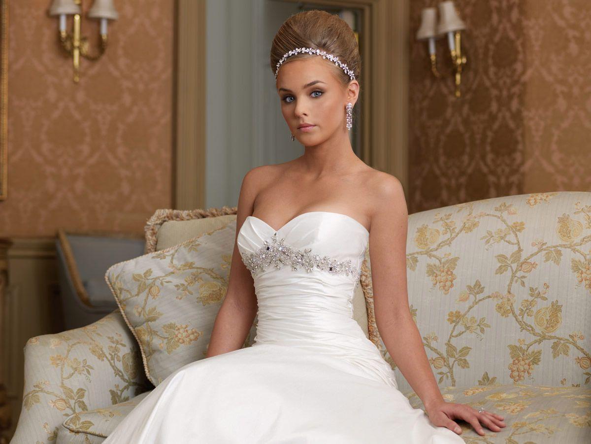 "Mon Cheri size 8 ""Patrice"" $599 silk dupioni - emerald city gowns ..."