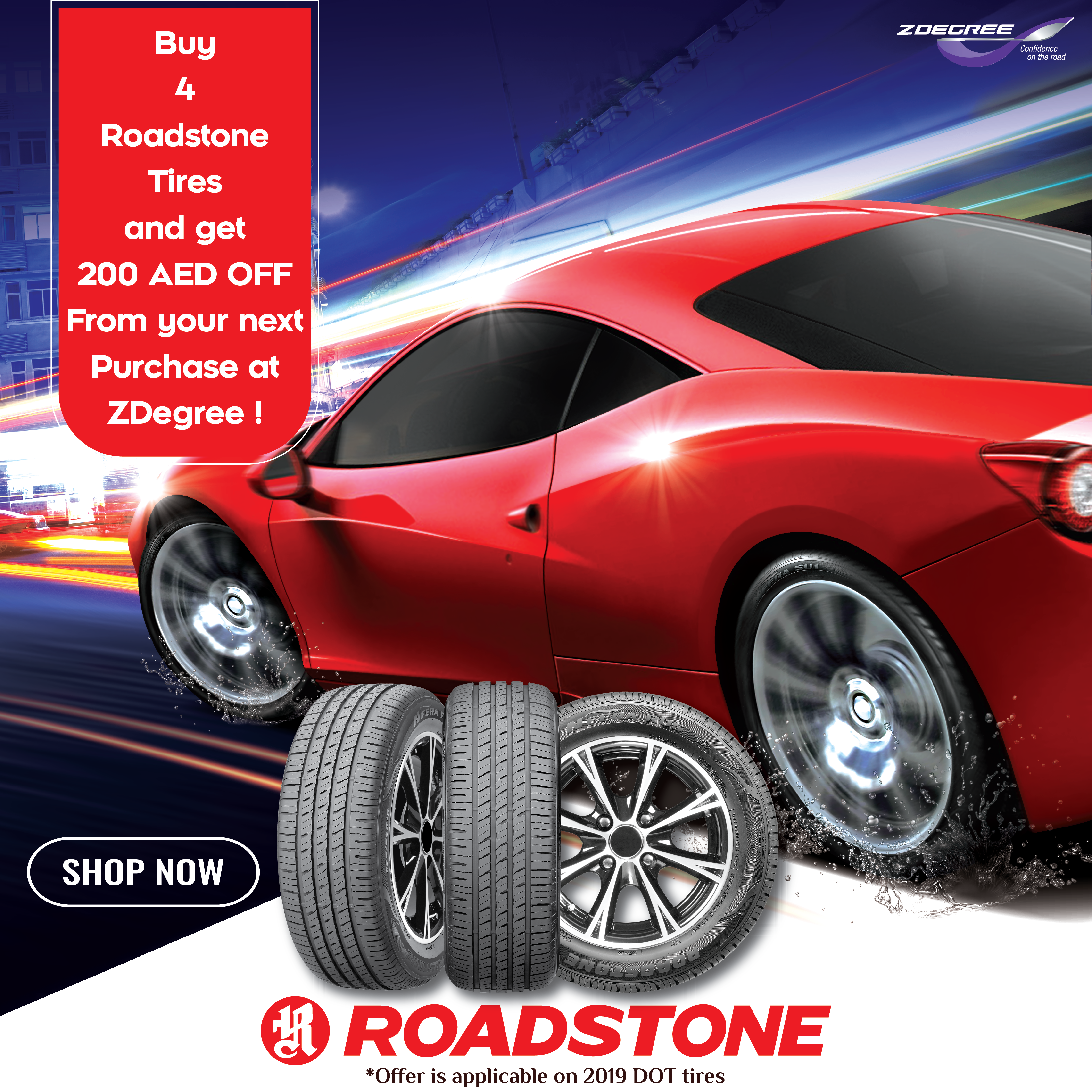 Buy 4 Roadstone Tires And Get 200 Aed Off Tyre Shop Buy Tires Auto Service